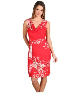 """Dress B. This one was involved in """"Gee honey, that dress makes your stomach-look big-gate."""" I think it's cute and """"he who should not be named"""" made that remark before surgery. (From 6pm.com)"""