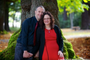 10/20/12 Lincoln Park, Seattle. My hubby is still such a sweetie.