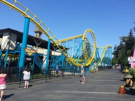 The Wild Thing. I rode it on 9/1/13 and my heart's still beating.