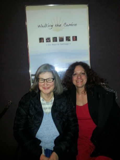 Meredyth and me at the movies transforming cyber friendship to something more.