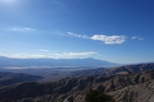 From Keys View Point, overlooking Coachella Valley and the San Andreas Fault.